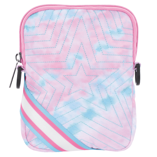 Picture of Silver Star Quilted Crossbody Bag