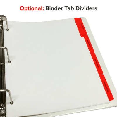 Picture of ADP Stock Binder