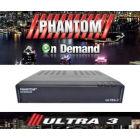 RECEPTOR PHANTOM ULTRA 3 Full HD ON DEMAND IPTV IKS SKS
