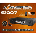 Receptor Azamerica S1007 - Full HD 1080p e IPTV W8