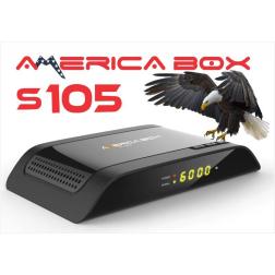 RECEPTOR FTA AMERICA BOX S105 + WIFI IPTV USB IKS SKS