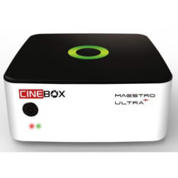 RECEPTOR CINEBOX MAESTRO ULTRA + - Android Wifi Quad - Comprar