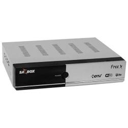 Receptor SATBOX FREE X HD - 4K ACM WIFI VOD IPTV