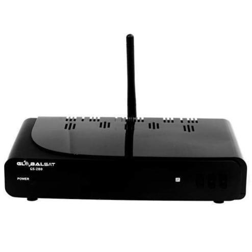 RECEPTOR DIGITAL GLOBALSAT GS-280 IPTV WI-FI 3 TUNNER