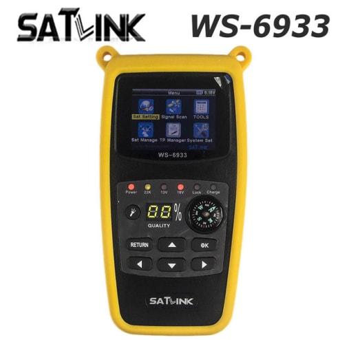 Localizador De Satelite Digital Profissional Satlink WS-6906