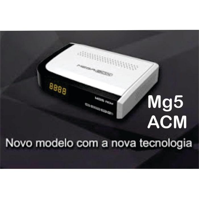 MEGABOX MG5 ACM NOVA ATUALIZAÇÃO V1.47 Mg5-acm