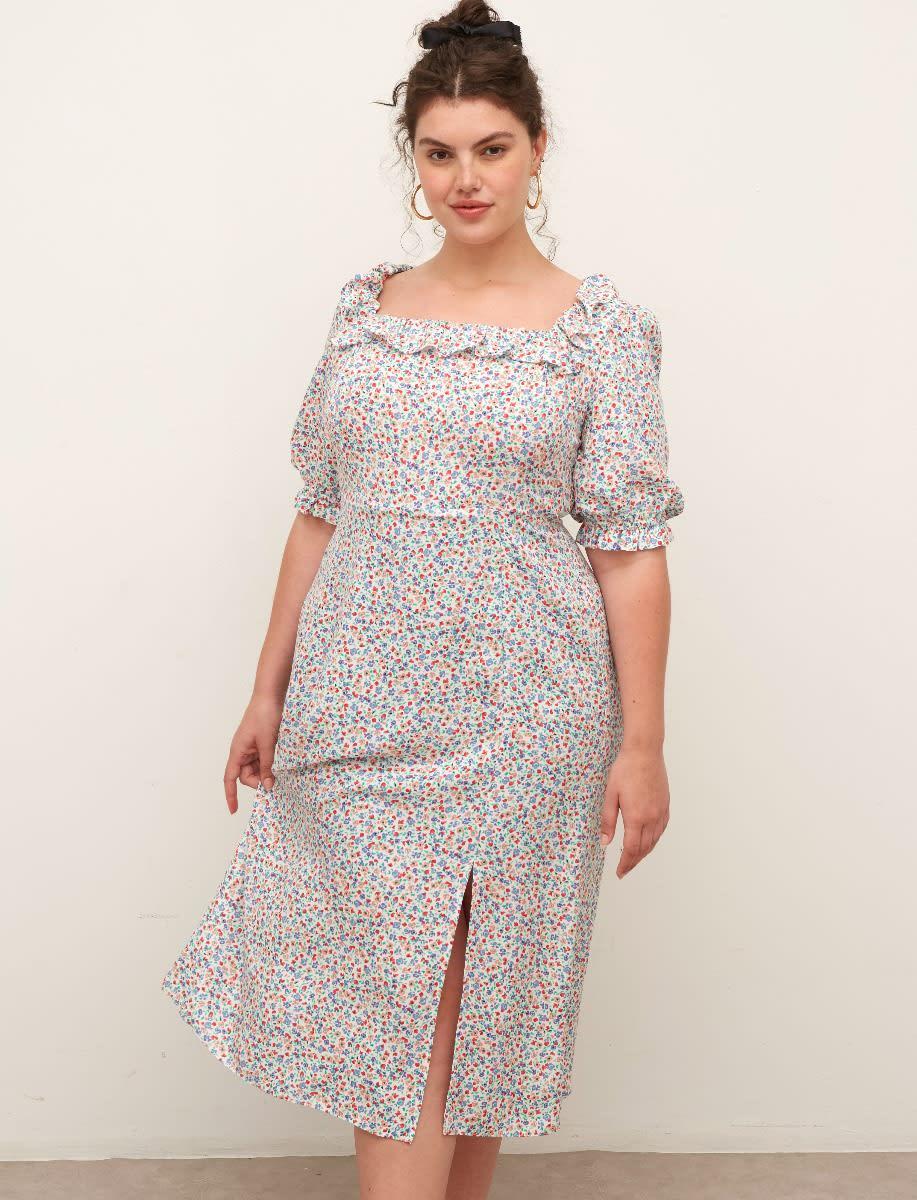 Curve Keira Midi Dress