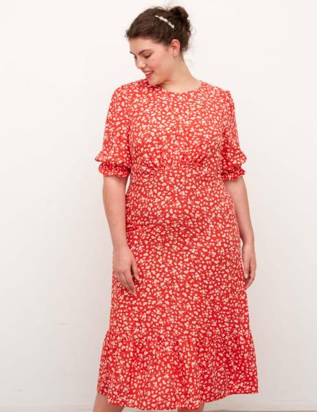 Curve Selena Midi Dress