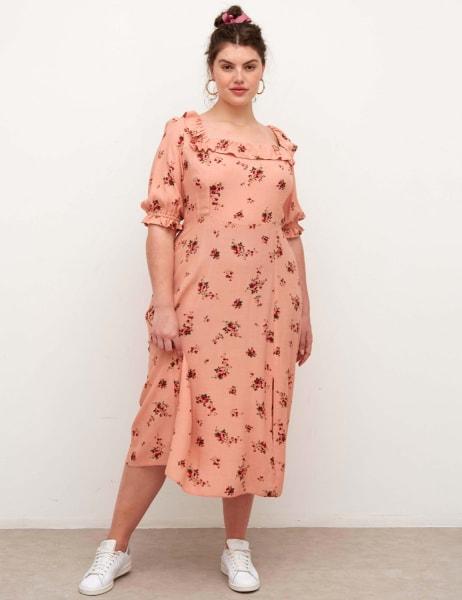 Curve Kiera Midi Dress
