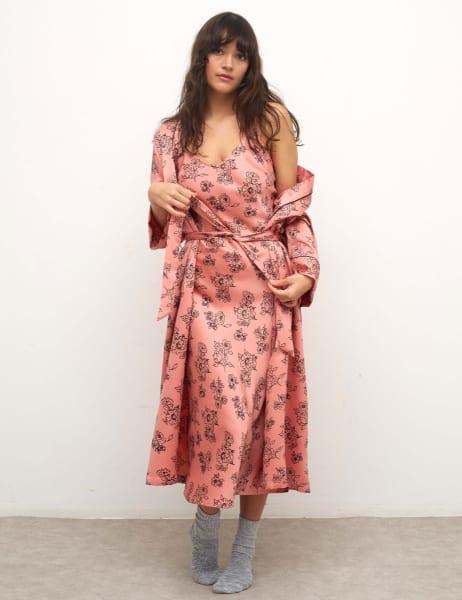 Ezra Longline Robe