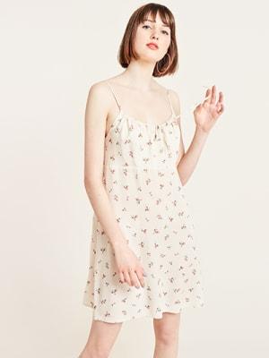 Rosebud Print Cami Dress