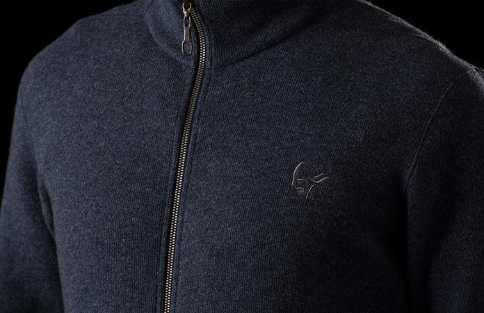 Norrona wool jacket for urban use