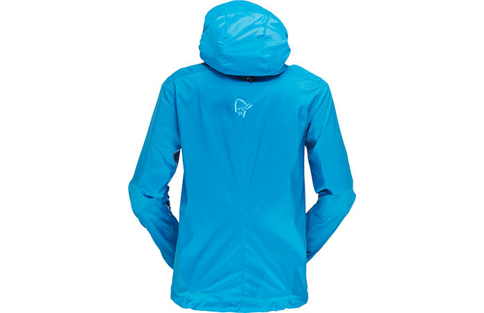 Norrøna bitihorn aero60 jacket women - back