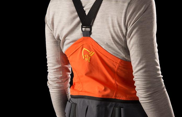 lofoten freeride pants orange