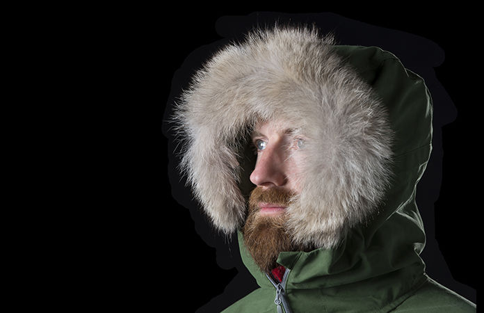 Norrona svalbard organic cotton anorak for men