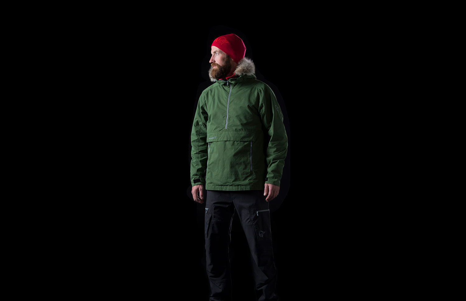 Norrona svalbard cotton Anorak for men