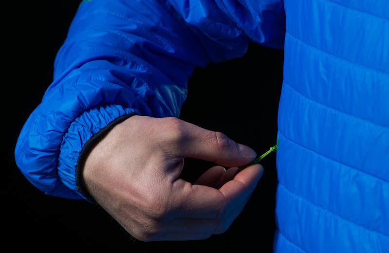 Norrona insulated Primaloft jacket in falketind men