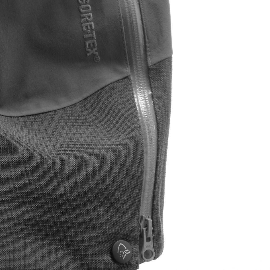 Technical details Renfort en aramide au bas des jambes