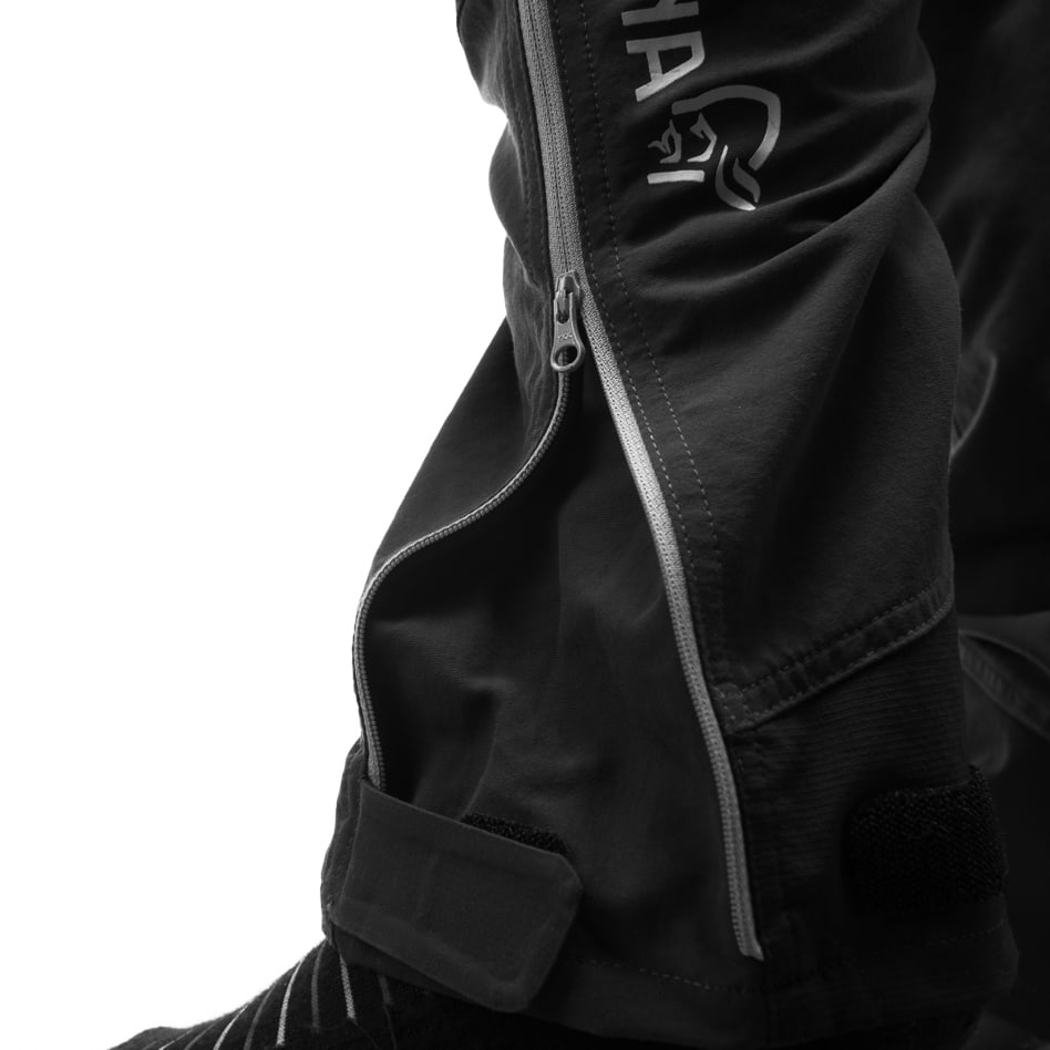 Technical details Zip close system™ around the leg