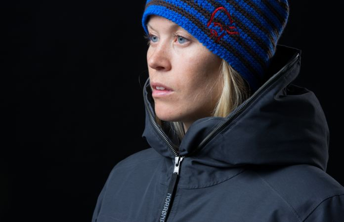 Warm waterproof urban parka from Norrona