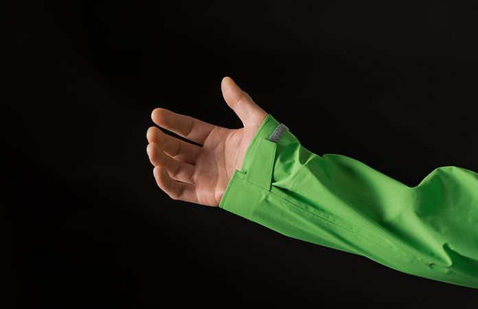 Norrøna /29 regnjakke herre - borrelås på håndledd