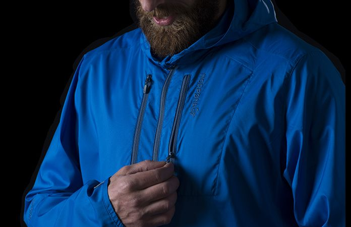 Norrøna bitihorn jacket - packable pocket - aero60