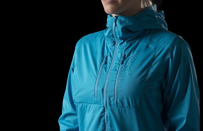 Norrøna bitihorn aero60 lett jakke til dame