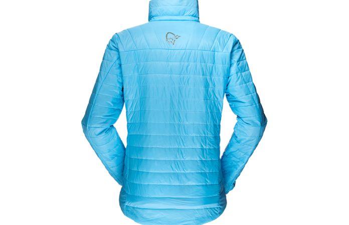Norrona jacket for women - Primaloft jacket in falketind