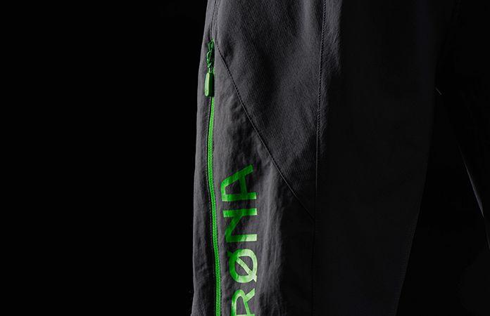 norrøna fjørå shorts with venting zips