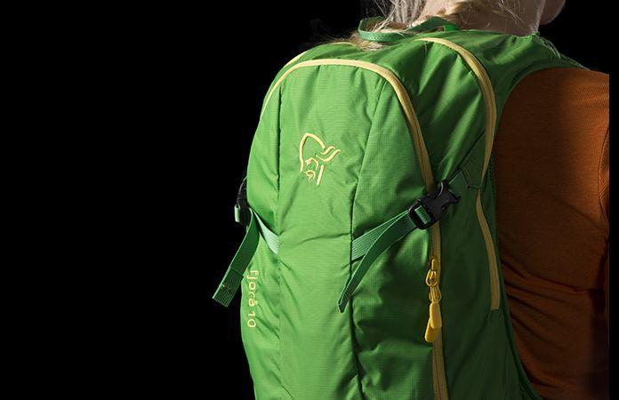 Norrona fjørå pack 10L for mountain biking
