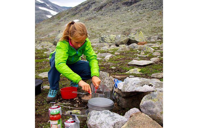 Norrøna falketind primaloft jakke til barn