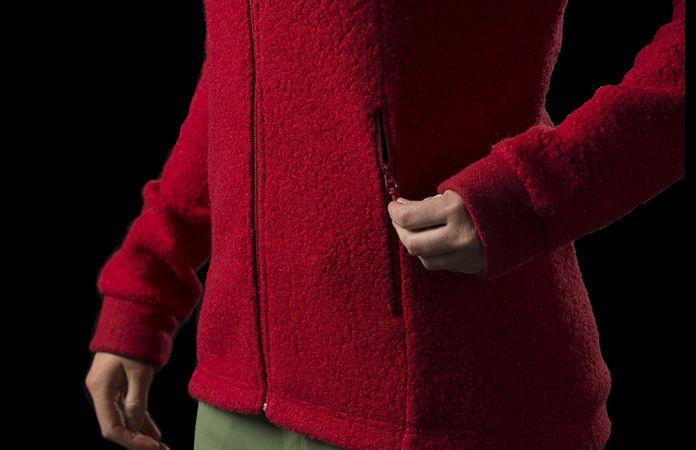 Norrøna svalbard ulljakke til dame