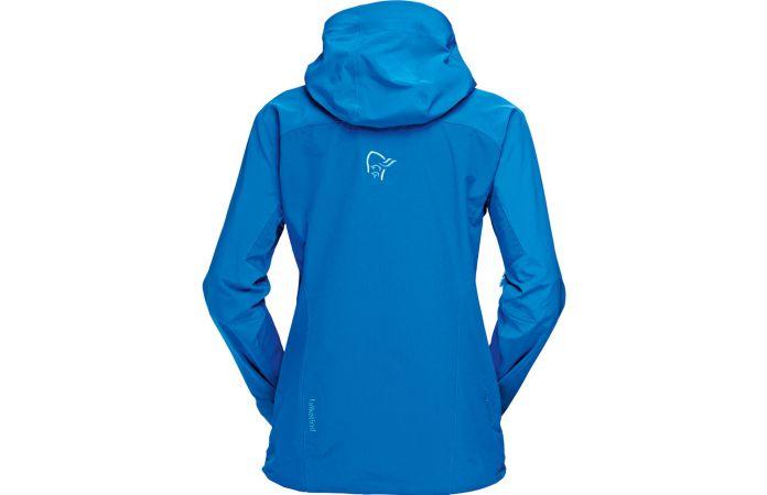 Norrøna falketind windstopper hybrid jakke til dame