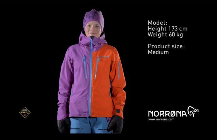 Norrona lofoten Gore-tex pro jacket women