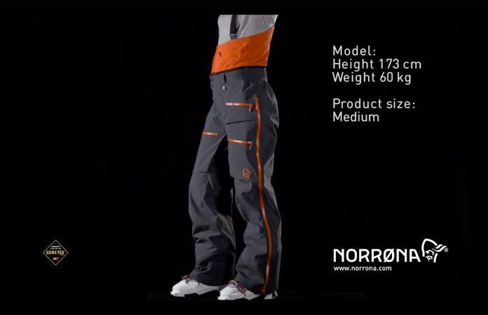 Norrona lofoten Gore-tex pro pants women