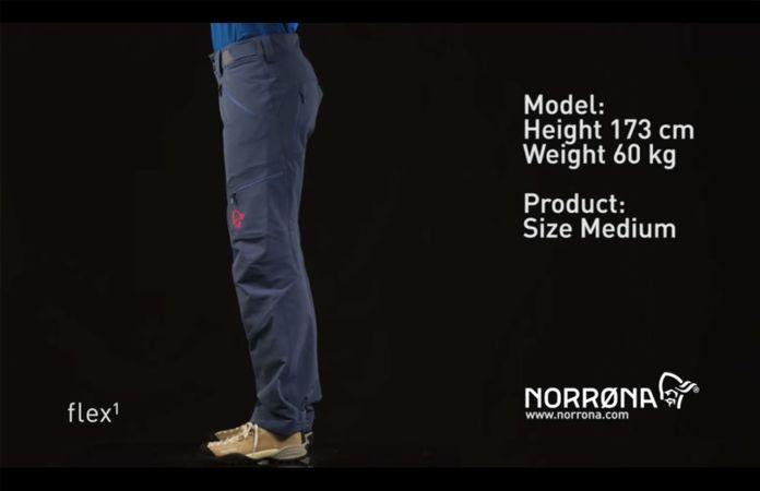Norrona svalbard flex1 soft shell pants for woman - youtube