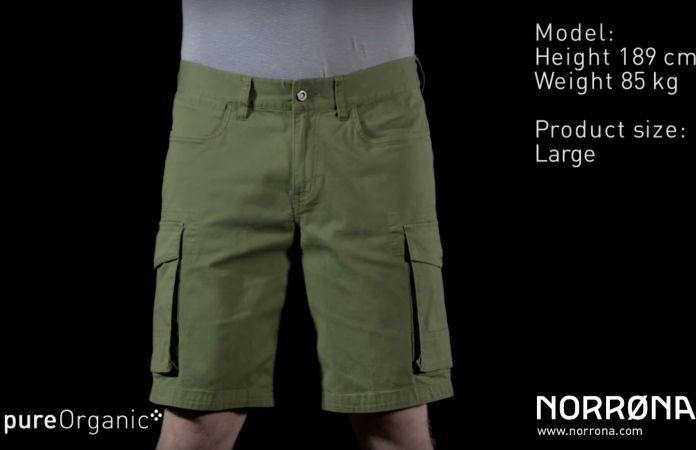 Norrona /29 cargo shorts for men - active lifestyle