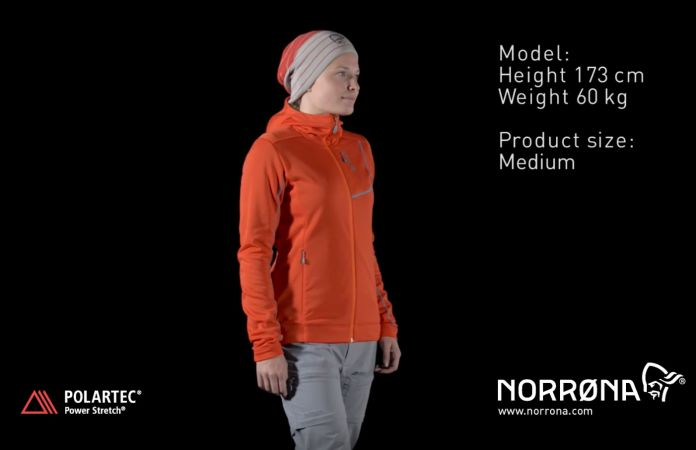 Norrøna bitihorn powerstretch hood sweater women