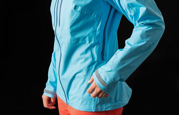 norrøna waterproof and windproof jacket for women