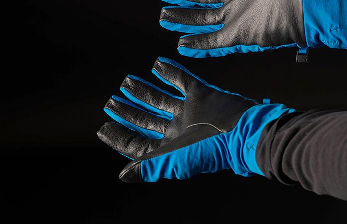 Norrona dri short gloves for men and women