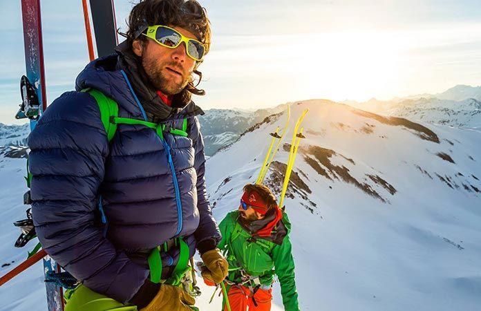 Norrøna lyngen lightweight wodn jacket for ski touring for men