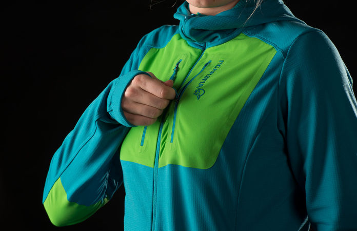 Norrøna lyngen powerstretch pro hoodie for women