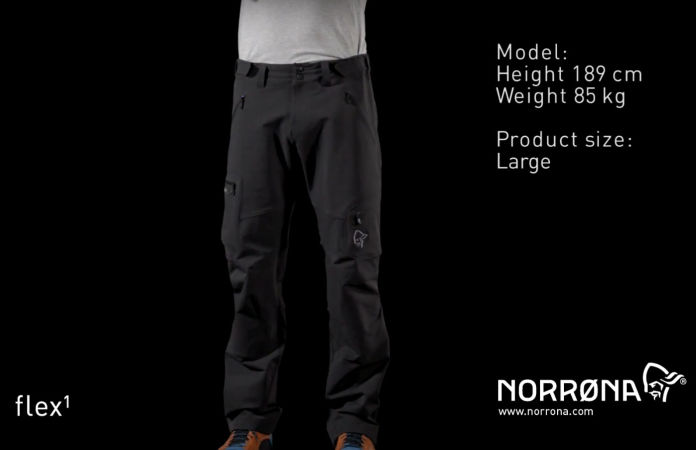Norrona svalbard flex1 outdoor pants