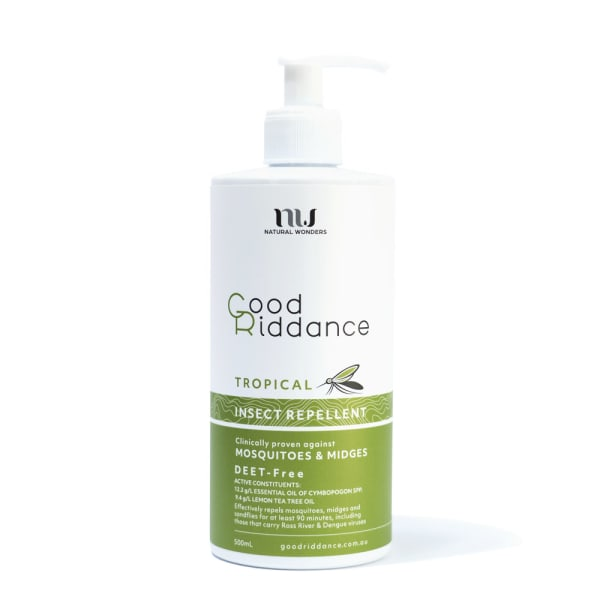 Good Riddance Tropical Insect Repellent 500mL