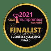 Business Excellence Award Victorian Finalist