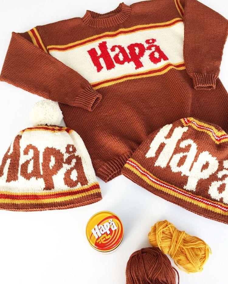 Strikk HaPå-genser