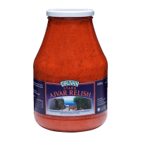 Druvan Ajvar relish i burk 2,6 kg
