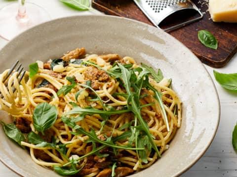 Receptbild Beanit Citrondoftande pasta