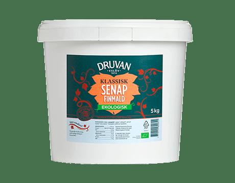 Druvan Ekologisk Senap Finmald produkt