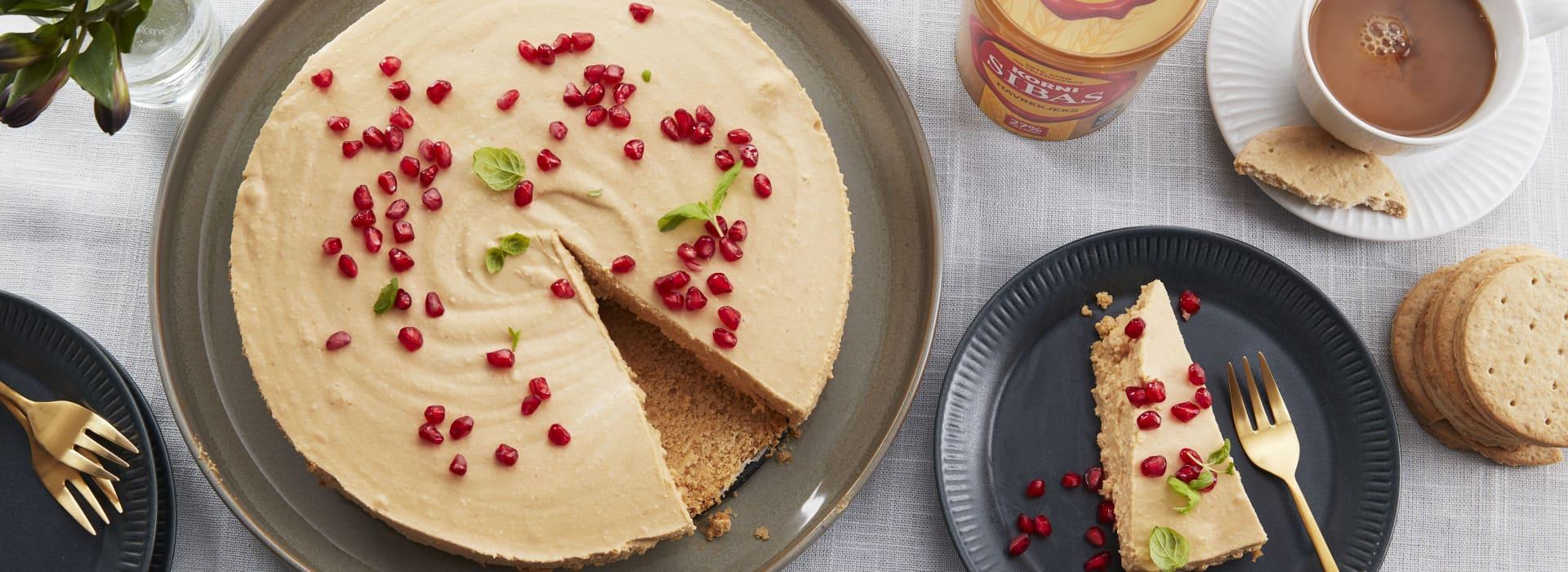 HaPå-ostekake med Sibas kjeksbunn